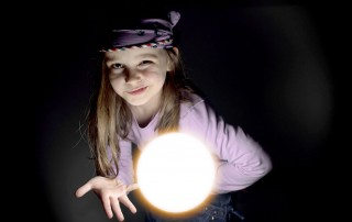 Little Girl with Glowing Crystal Ball: Predictions Course