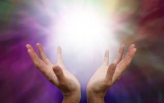 Healing Hands Using Reiki Energy